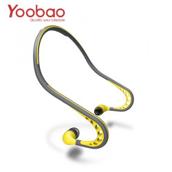 Latest Gadgets,Yoobao Sweat-Proof Wired Sports Headphone with Mic,yellow,LGYBOBLY03YEL-0006455 image here