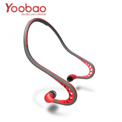 Latest Gadgets,Yoobao Sweat Proof Wired Sports Headphone With Mic,red,LGYBOYBLY0RED-0006512 image here