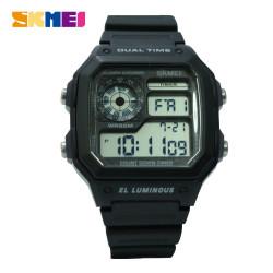 Latest Gadgets,SKMEI 1299 Digital Sports Watch 5 ATM Water Proof,black,LGSKM01299BLK-0007680 image here