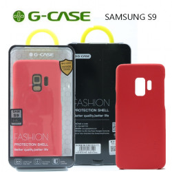 Latest Gadgets,GCase  TPU Leather Series Protective Shell Back Cover for Samsung S9,red,LGGCS00001RED-0007291 image here