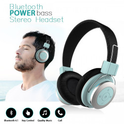 Mezone Bluetooth Stereo Headset with Mic - Blue image here
