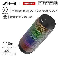 AEC BLUETOOTH SPEAKER WITH NFC MP3 AND FM RADIO - BLACK image here
