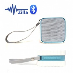 ZILLA WATER RESISTANT BLUETOOTH SPEAKER WITH NFC - WHITE image here