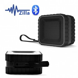 ZILLA WATER RESISTANT BLUETOOTH SPEAKER WITH NFC - BLACK image here