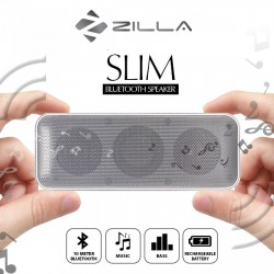 Latest Gadgets,ZILLA CARD SHAPED BLUETOOTHSPEAKER 10W SUPER BASS,white,LGZILBT202WHT-0005258 image here