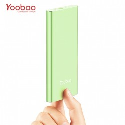 Latest Gadgets,YOOBAO 10000MAH SLIM POLYMER POWERBANK WITH MICRO AND LIGHNING INPUT PORT,gren,LGYBO000A1GRN-0006314 image here
