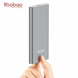 Latest Gadgets,Yoobao 10000mah Slim Polymer Powerbank With Micro And Lighning Input Port,gray,LGYBO000A1XXX-0006315 image here