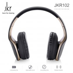 Latest Gadgets,JKR 3.5MM WIRED STEREO HEADPHONE,gold,LGJKR00102GLD-0006283 image here