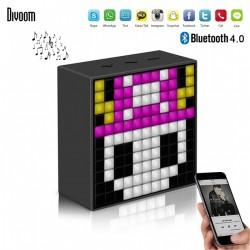 DIVOOM TIMEBOX MINI BLUETOOTH SPEAKER WITH SMART LED PANEL - BLACK image here
