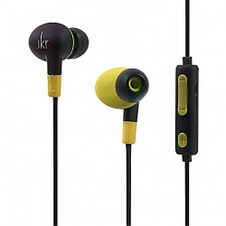 JKR WIRELESS BLUETOOTH SPORTS IN-EAR EARPHONE - YELLOW image here