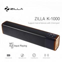 ZILLA 1000 20 WATT HIGH BASS MULTIFUNCTION BLUETOOTH SPEAKER (GOLD) image here