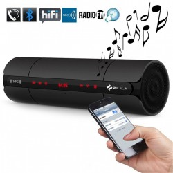 ZILLA MULTIFUNCTIONN BLUETOOTH NFC SPEAKER WITH FM AUX AND MP3 PLAYER - BLACK image here