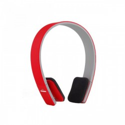 Latest Gadgets,AEC SMART BLUETOOTH STEREO HEADPHONE,red,LAECBQ618RED-0004661 image here