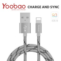 Latest Gadgets,YOOBAO 1.5 METER LIGHTNING CHARGING SYNC CABLE,gray,LGYBOYB422GRY-0006396 image here