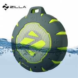 ZILLA WATER RESISTANT FLOATING BLUETOOTH SPEAKER - GREEN image here
