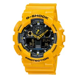 CASIO G-SHOCK GA-100A-9ADR image here