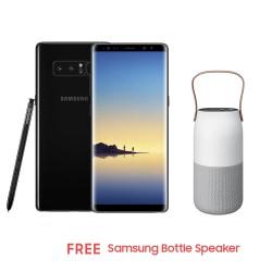 Samsung Galaxy Note8 64GB (Midnight Black) with Free Samsung Bottle Speaker image here
