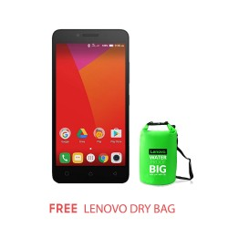 LENOVO A6600 PLUS BLACK WITH FREE WATERPROOFBAG image here