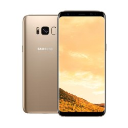 """SAMSUNG GALAXY S8+ 6.2"""" 64GB (MAPLE GOLD) image here"""