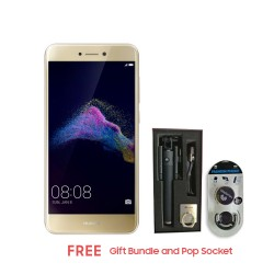HUAWEI GR3 2017 16GB (GOLD) WITH FREE GIFT BUNDLE AND POP SOCKET image here