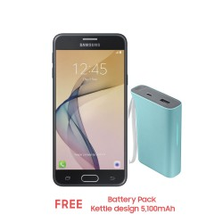Samsung Galaxy J5 Prime 16GB (Black) with Free Battery Pack Kettle design 5,100mAh image here