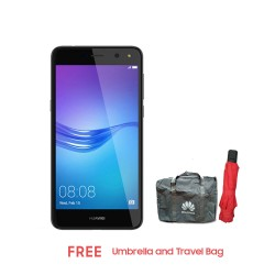 Huawei Y5 2017 16GB (Grey) with Umbrella and Travel Bag image here
