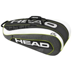 HEAD, DJOKOVIC 9R SUPERCOMBI BKWH, Black, HD283086BKWH image here