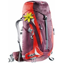 Deuter Act Trail Pro 38 SL (AUBERGINE-FIRE) image here