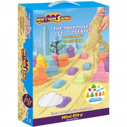 Motion Sand,Deluxe Box-Mini City,MS-1701 image here