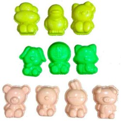 Motion Sand | 3D Cartoon Animals Moulds image here