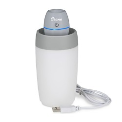 CRANE PERSONAL TRAVEL ULTRASONIC COOL MIST HUMIDIFIER - GREY image here