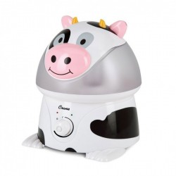 """CRANE ADORABLE COOL MIST HUMIDIFIER - """"CURTIS THE COW"""" image here"""