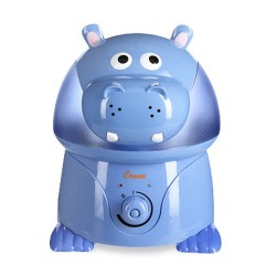 """CRANE ADORABLE COOL MIST HUMIDIFIER - """"VIOLET THE HIPPO""""   image here"""
