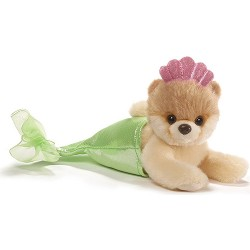 Gund,Itty Bitty Boo Mermaid Stuffed Dog 5 Plush,4058946 image here