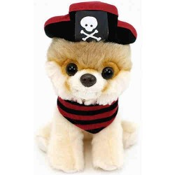 Gund,Gund Itty Bitty Boo 5' Pirate Plush,40562341 image here