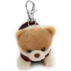 Gund Itty Boo In Hoodie Keychain image here