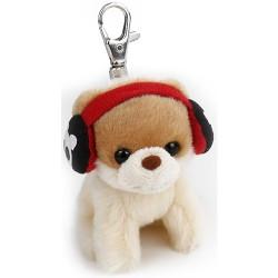 Gund,Gund Itty Boo In Earmuff Keychain,4059410 image here
