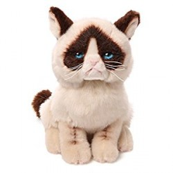 Gund,Grumpy Cat 9-Inch Plush Stuffed Animal Toy,4040133 image here