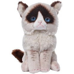 Gund,Grumpy Cat 5-Inch Beanbag Stuffed Animal,4046082 image here