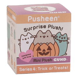 Gund,Pusheen Surprise Plush Blind Box Series #4 Halloween Toy,4059094 image here