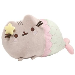 Gund,Pusheen Mermaid Pose Plush 12L,Gund33 image here