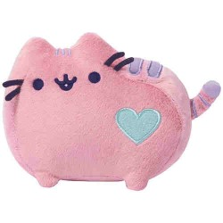 Gund Pusheen Cat Pastel Pink Plush Stuffed Animal, 6 Inches image here