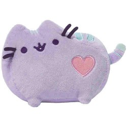 Gund Pusheen Cat Pastel Purple Plush Stuffed Animal, 6 Inches image here
