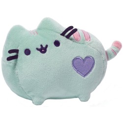 Gund Pusheen Cat Pastel Green Plush Stuffed Animal, 6 Inches image here