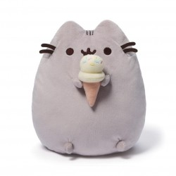 Gund,Pusheen 9.5 Ice Cream Cone Plush,4048872 image here