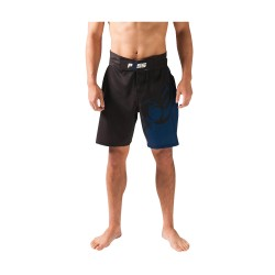 POSS GROUND WORKS FIGHT SHORTS BLACK/BLUE image here
