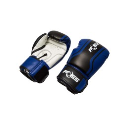 POSS GT BOXING GLOVES 12OZ - BLUE image here