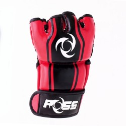 POSS GT MMA Gloves - Red image here