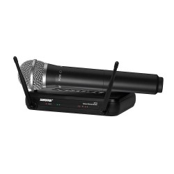 Shure, SVX24AZ/PG58 ,black,SHURE SVX24AZ/PG58 WIRELESS VOCAL SYSTEM image here