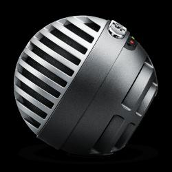 SHURE MOTIV¯ MV5-LTG-A CONDENSER MIC FOR IOS AND USB image here